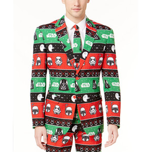 Festive Force Star Wars Christmas Suit - Close