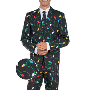 The Light Wrangler Ugly Christmas Suit by Tipsy Elves