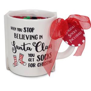 You Get Socks Gift Set with Mug & Socks