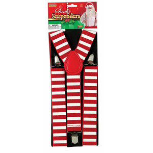 Festive Santa Suspenders