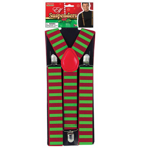 Festive Elf Suspenders
