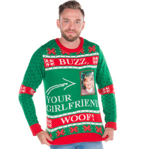 Buzz Your Girlfriend, Woof Christmas Sweater