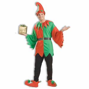 Santa's Helper Elf Costume