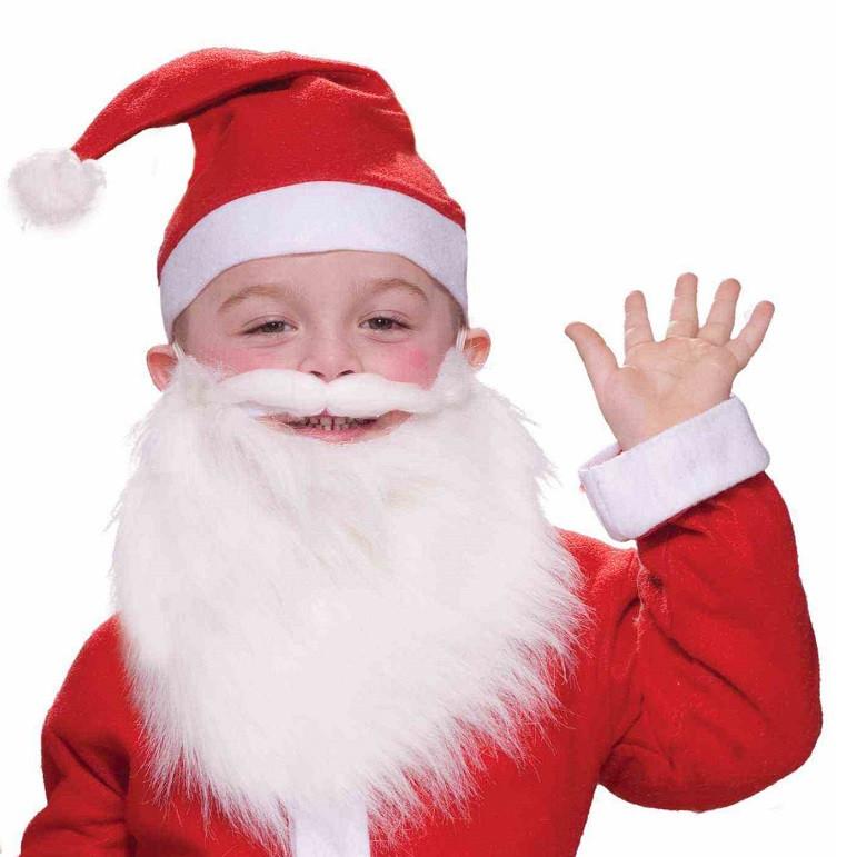 santa claus beard for kids - Kids Santa Claus