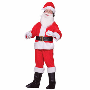Deluxe Lil' Santa Costume for Kids