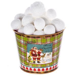 Plush Indoor Snowballs
