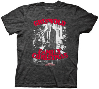 Clark Griswold with Chainsaw t-shirt