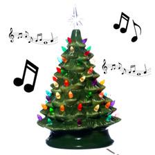 Musical Ceramic Christmas Tree