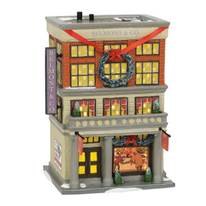 Department 56 Christmas Vacation Snow Village Department Store Front View