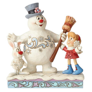 Frosty the Snowman, Karen and Hocus Pocus Figure by Jim Shore Front View