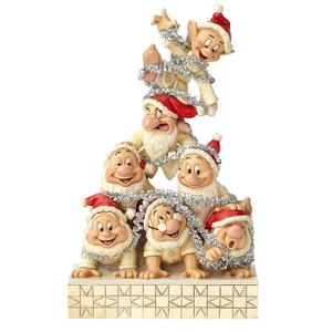 Disney's The Seven Dwarfs White Wonderland Figure by Jim Shore Front View