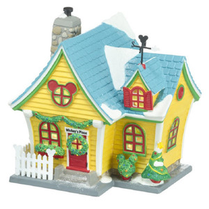Department 56 Disney Village Mickey Mouse House