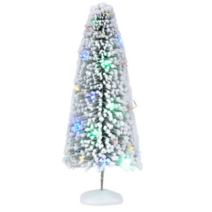 Department 56 Village Accessories Lit Snow Laden Large Sisal Tree