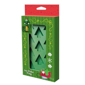 Elf The Movie Christmas Tree Ice Cube Tray Packaged View