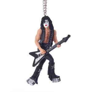 KISS Star Child with Guitar Ornament