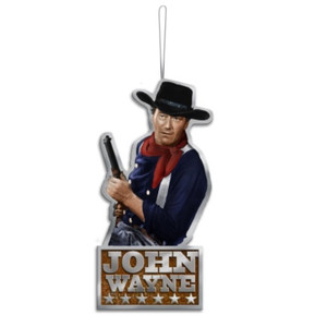 John Wayne Chrome Ornament