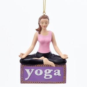 Yoga Resin Ornament
