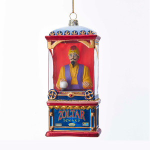 Zoltar Fortune Teller Glass Ornament