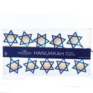 Hanukkah Star of David Light String Set