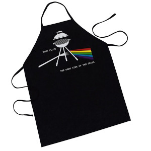 Pink Floyd Dark Side Of The Grill Unpackaged Apron