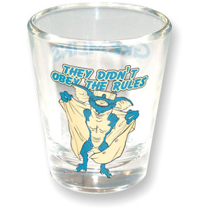 Gremlins They Didn't Obey The Rules Shot Glass