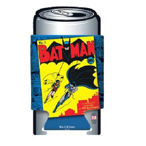 DC Comics Batman First Issue Comic Cover Can Cooler Front View