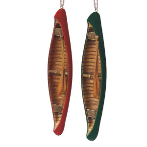 Canoe Ornament