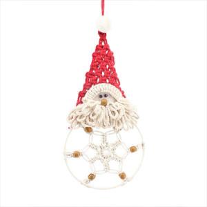 Macrame Santa Hanging