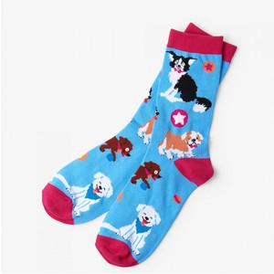 Hatley Cute Pups Women's Crew Socks