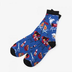 Hatley BBQ Men's Crew Socks