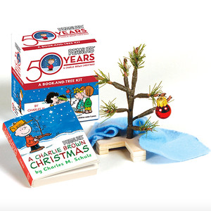Charlie Brown Christmas Tree and Book Kit