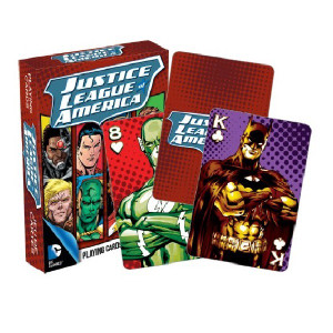 The Justice League Playing Cards