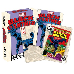 Black Panther Retro Playing Cards