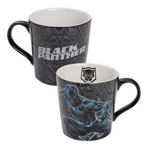 Black Panther 12 oz Ceramic Mug Duel View