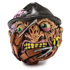 """Madballs 4"""" Foam Horrorballs Freddy Krueger Unpackaged View"""