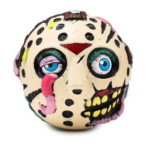 """Madballs 4"""" Foam Horrorballs Jason Vorhees Unpackaged View"""
