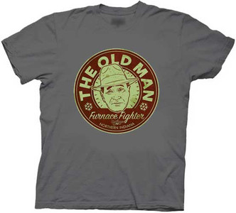 The Old Man t-shirt - Furnace Fighter