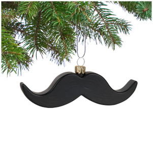 Mustache Ornament.
