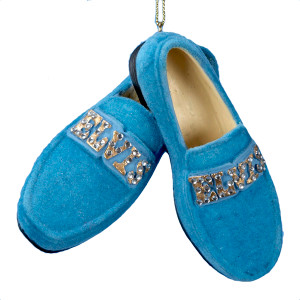 Blue Suede Shoes Ornament - Elvis.