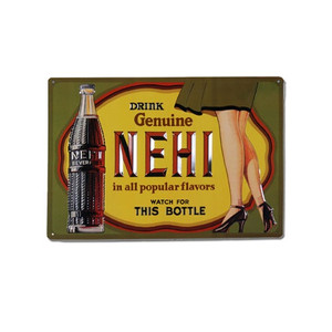 Nehi Cola Sign that inspired the famous Leg Lamp.
