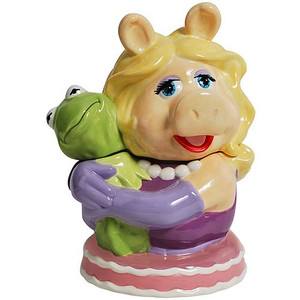 Kermit and Miss Piggy Forever - Muppets Cookie Jar