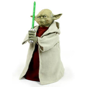 Lightsaber Yoda Tree Topper