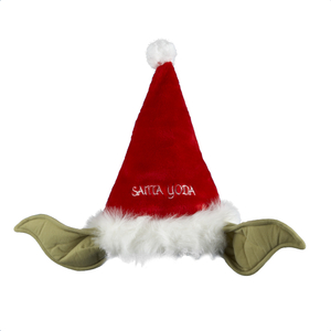 Santa Yoda Hat