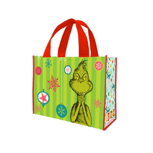 Grinch Large Tote Bag - New Design- Back