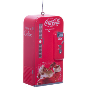 Coca-Cola  Vending Machine Ornament