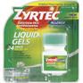 Zyrtec Liquid Gels 25 ct -Catalog