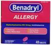 Benadryl Allergy Ultratabs 48 ct -Catalog
