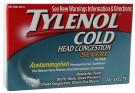 Tylenol Cold Head Congestion Severe 24ct -Catalog