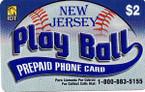 NY Playball Phone Card $2 -Catalog