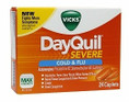 DayQuil Cold & Flu Severe Caplets 24ct -Catalog